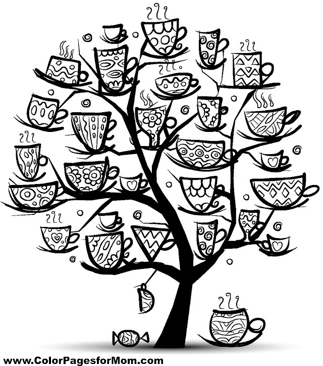 Tree Coloring Page 23