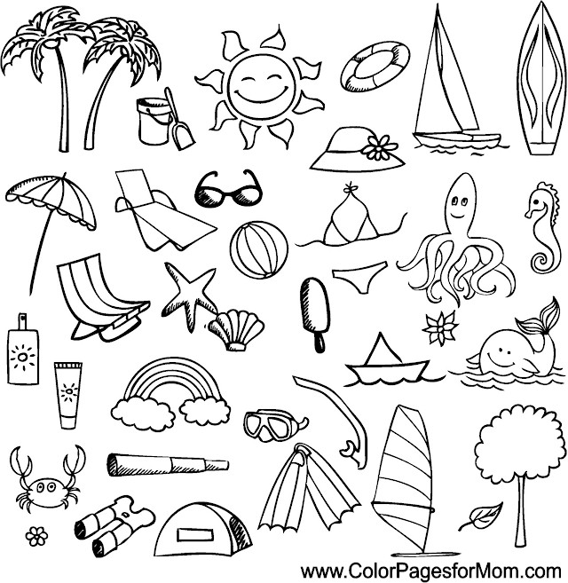 Condo Coloring Pages Coloring Pages Vacation Coloring Page