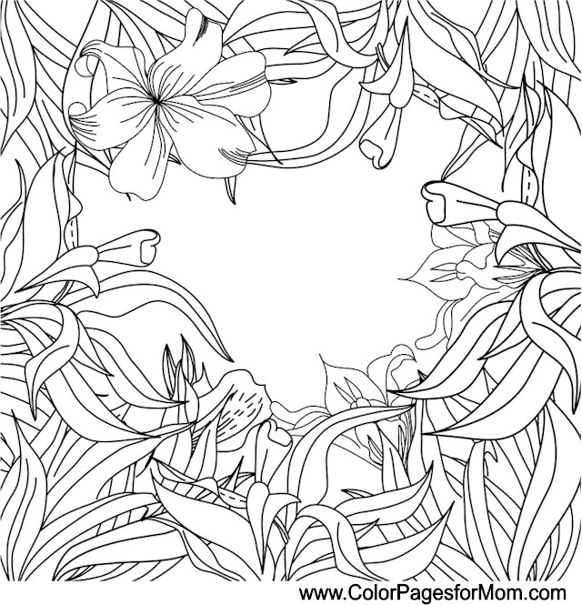 wedding coloring page 6