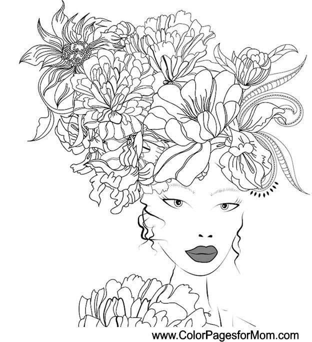 wedding coloring page 9