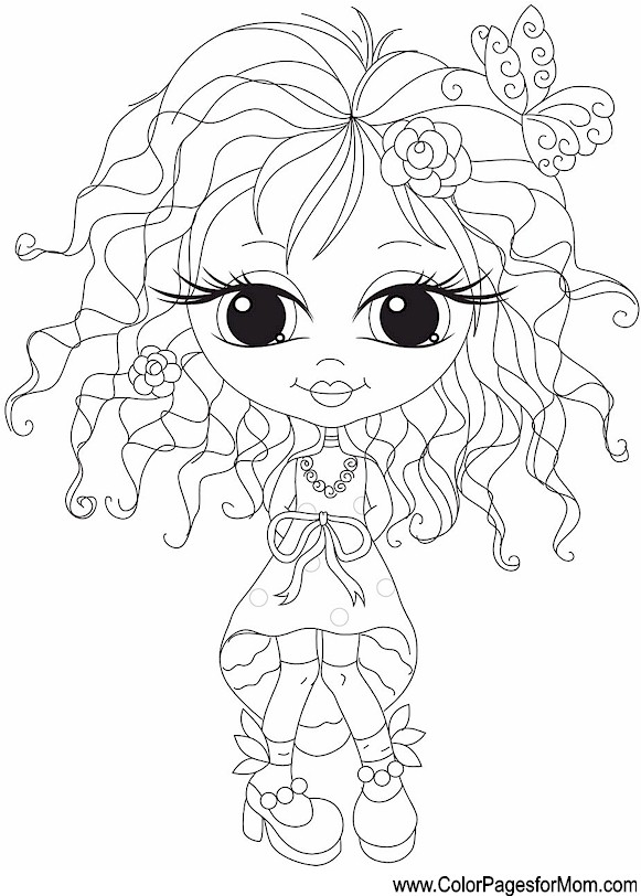 Whimsical Coloring Page 2