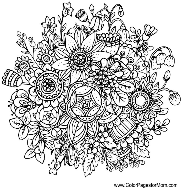 whimsical coloring page 23
