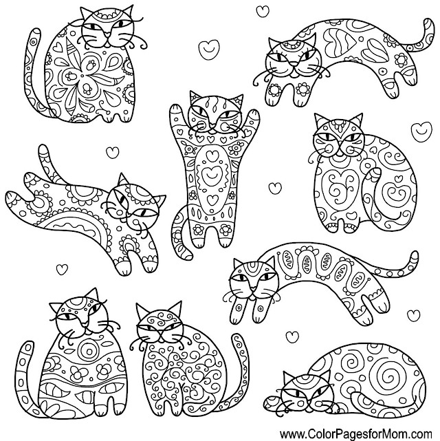 whimsical coloring page 49