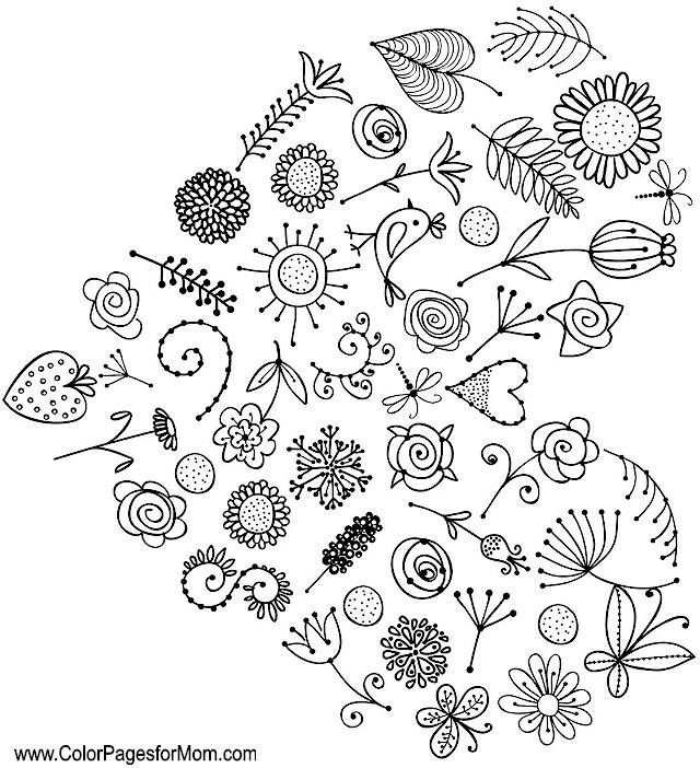 Whimsical Coloring Page 57