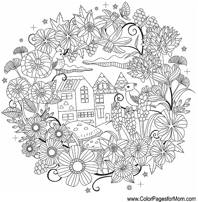 Whimsical Coloring Page 63